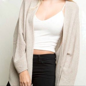 Brandy Melville | Open Front Cardigan | Size OS